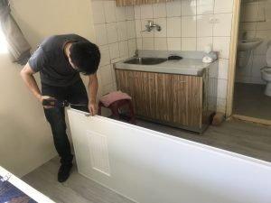 北高雄更換修理浴室門
